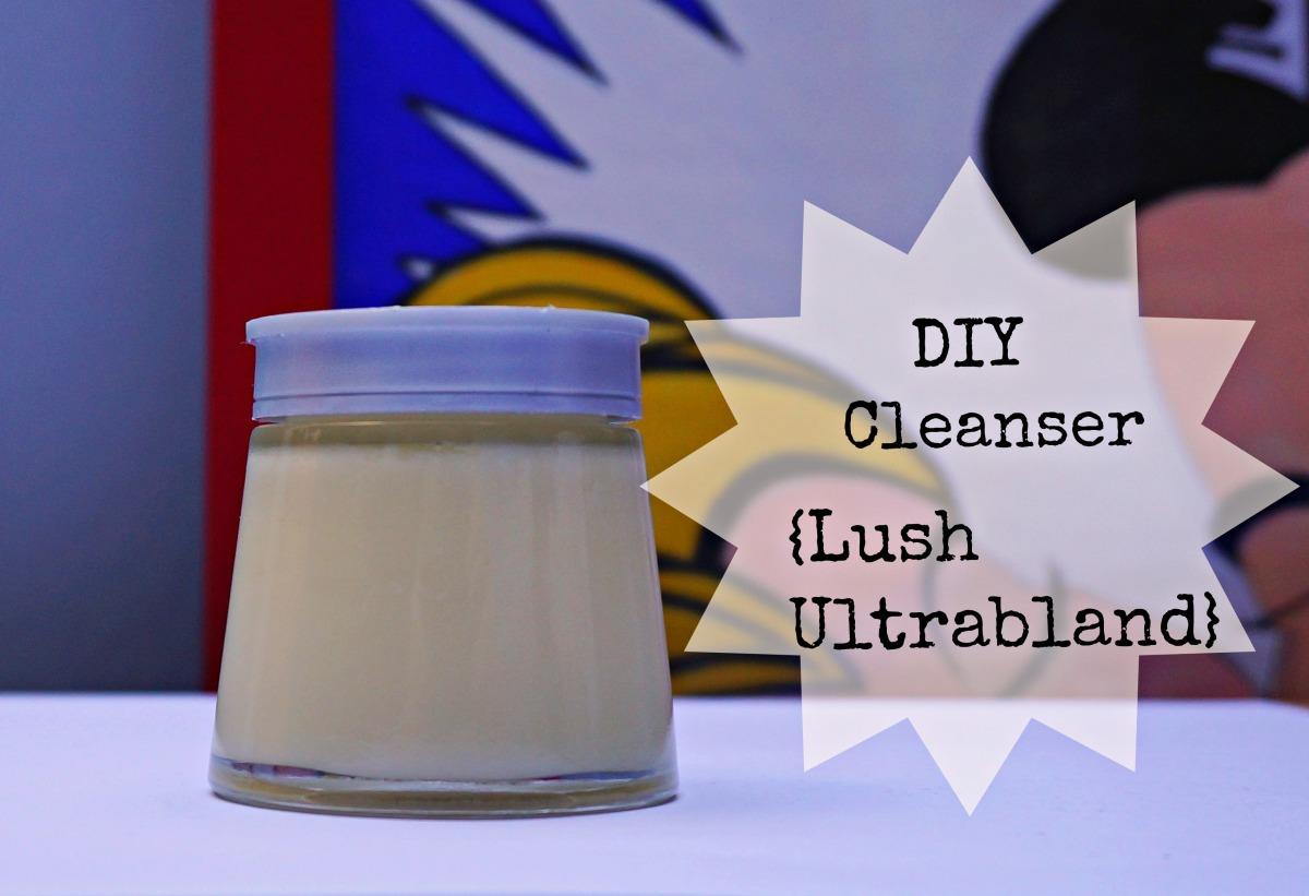 Easy DIY Lush Ultrabland inspired cleanser/moisturizer