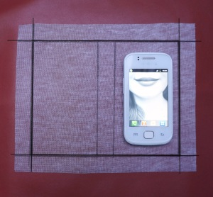 DIY flipcase smartphone