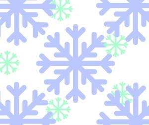 Background snowflakes